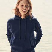 Ladies Hooded Sweatshirt by Fruit Of The Loom