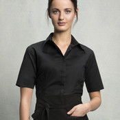 Ladies' Short Sleeve Bar Shirt
