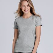 Ladies Premium Cotton T-Shirt by Gildan