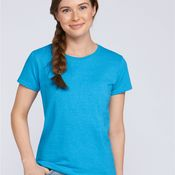Ladies Heavy Cotton Semi Fitted T Shirt by Gildan