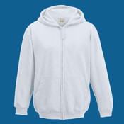 Children's Zipped Hooded Sweatshirt by AWD